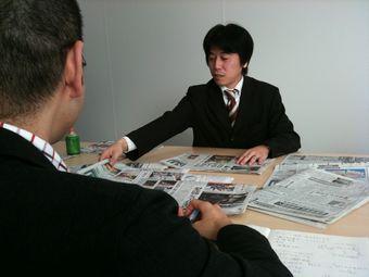 日経流通新聞(日経MJ)インタビュー写真